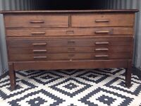 Plan chest/ architects drawers