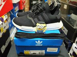 M&K:NMD Monochrome PK black US10 USED PAIR Sydney City Inner Sydney Preview