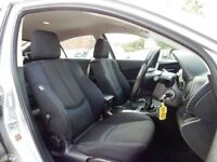 Mazda 6 front and rear seats