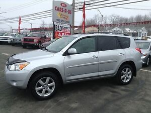 2008 Toyota RAV4 Limited-2 year unlimited km warranty included!