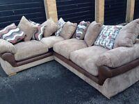 HARVEYS LULLABYE CORNER Right hand facing sofa Brand New