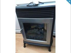 Electric fire effect heater