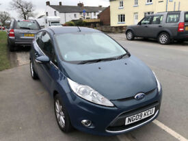 Ford Fiesta 1.25 ( 82ps ) Zetec 3DR 09/09