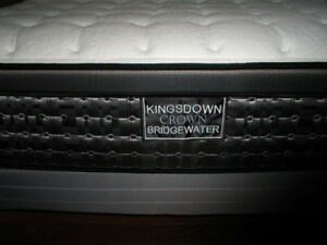 Kingsdown Double Mattress, Box Springs, Frame and Mattress Cover