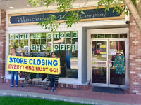 Up To 75% off at Wanderlust in Marda Loop -- Closing Sale