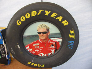 Dale Earnhardt Jr. Photo in a Real Racing Tire Frame London Ontario image 1