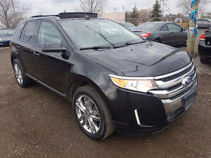 2012 Ford Edge SEL AWD PANO-ROOF LEATHER