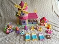Large bundle of ELC Happyland windmill house and figures