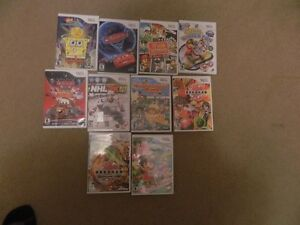 WII GAMES FOR SALE GREAT DEAL TAKE A LOOK!!!!WOW!!!