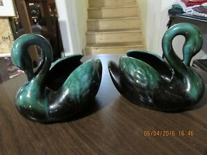 Blue Mountain Pottery - Swans