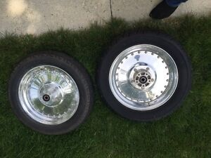 Harley tires and rims