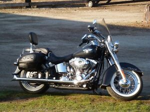 2007 Harley Davidson Deluxe with extras