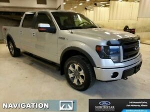 2013 Ford F-150 FX4  - Navigation - Power Moonroof - $275.75 B/W