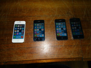 Apple iPhone 4  & 4S unlocked any Carrier - $50 ea& up