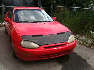 1993 Mazda MX-3 Red Hatchback