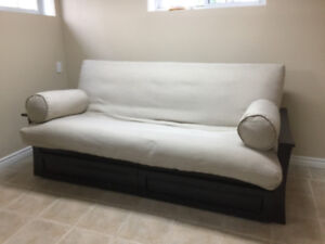 Like New Hypoallergenic Futon Purchased At 7th Heaven Futons