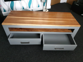 Tv unit,coffee table and nesting tables