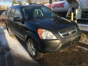 2002 Honda CR-V Certified with Warranty AWD