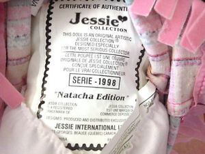 Jessie Collection Doll ~ Natacha Edition circa 1998 London Ontario image 3