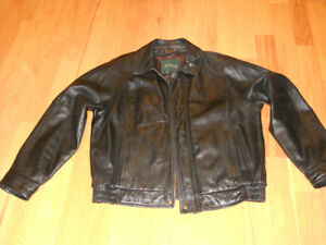 Men's Bomber Style Danier Leather Jacket