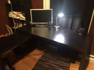 Ikea Malm Desk with Slide Out