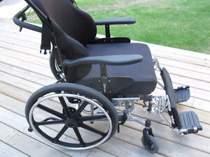 Orion ll heavy duty Tilting Wheelchair Very good condition Williams Lake Cariboo Area image 2