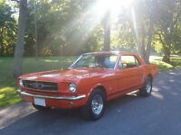 1965 Mustang Coupe, Good Condition, Runs Very Well!