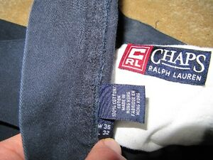 Chaps Ralph Lauren navy blue pants West Island Greater Montréal image 2