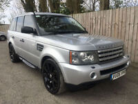 2006 06 Land Rover Range Rover Sport 4.2 V8 Supercharged Auto 23.2 mpg p/x