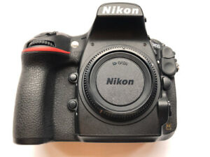 Nikon D810 with MB-D12 Battery Pack