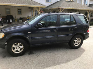 2000 Mercedes ML320 AWD
