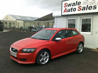 2009 VOLVO C30 R-DESIGN SPORT 1.6L ONLY 56,140 MILES, FULL SERVICE HISTORY