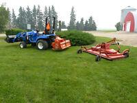 New Holland TZ25 Yard Tractor