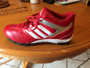 Mens Adidas Ball Cleats-size 11