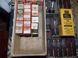 assortment of tubes and bulbs