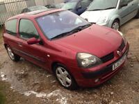 Renault Clio cheap 295