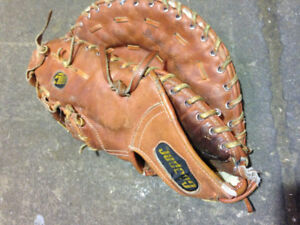 Cooper baseball Backcatcher glove leather good condition $30