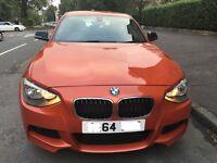 BMW 1 Series 120 Diesel M Sport 3 door 64 2015 not 116,118,a3,golf gti cat D