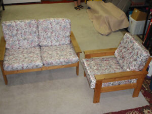 Sofa (2 places) et fauteuil / Loveseat and Chair