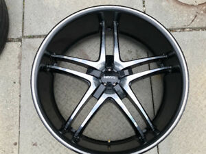 20 inch Boss rims - just in time for Summer!