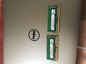 2 barette memoire DDR 4 2400 2X 4 GB DELL 1 SEMAINE