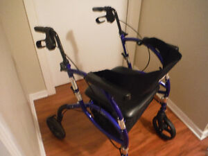 Airgo Navigator 2 in 1 Transport and Rollator