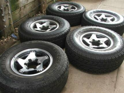 4WD- 5 ROH ALLOY FOR HILUX