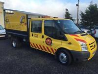 Ford Transit tipper with chipper body 2.4TDCi 100PS