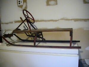 Traineau antique