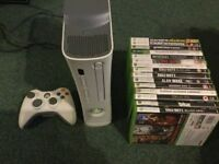 Xbox 360 and 15 games bundle