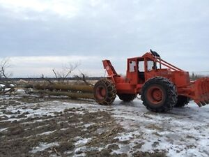 Skidder for hire, forestry and tree service