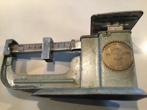 Vintage weight scale