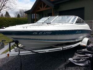 Doral Br170 open deck 90forces mercury