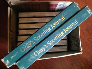 Gray's Sporting Journal collection - 42 mags plus